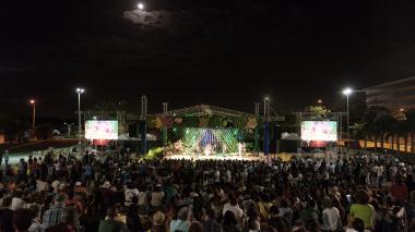 Gala del Carnaval de la Artes en el Parque Cultural del Caribe el año pasado.