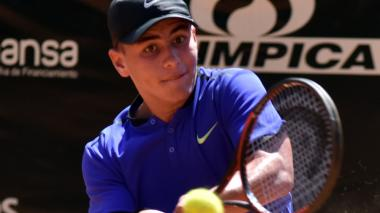 En un intenso duelo, Mateo Gómez avanza en el Mundial Juvenil de Tenis