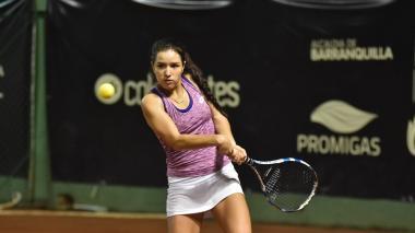 María Camila Osorio, sólida en el Mundial Juvenil de Tenis