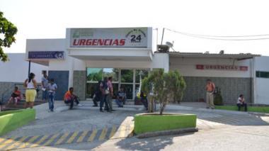 El patrullero Yamil José Rada Muñoz falleció en la clínica Campbell.