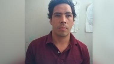 Cristian Camilo Bellón Galindo, capturado.