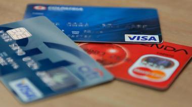 Tarjetas bancarias. Imagen de referencia.