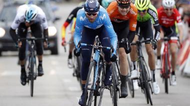 El ciclista español Alejandro Valverde.