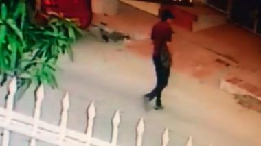 Este es el momento exacto de la captura de Cristian Bellón, tras la explosión de la Estación San José