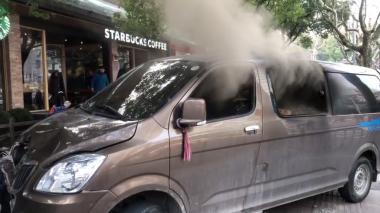 Una camioneta atropella a multitud en Shanghái y deja 18 heridos