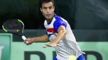 Brasil y República Dominicana empatan 1-1 su serie en Copa Davis