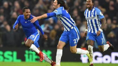 José Izquierdo convierte gol en victoria del Brighton en Inglaterra