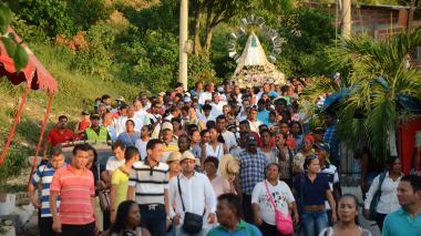 Virgen de la Candelaria en Cartagena: la devoción pudo más que las restricciones