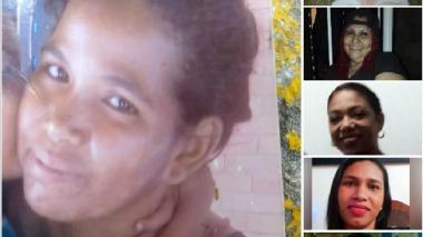 Algunas de las mujeres que han sido asesinadas en lo que va del año.