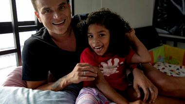 Alia, la niña riohachera que cumplió su sueño de conocer a Silvestre Dangond