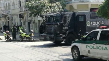 Fuerza Pública blinda evento de la Farc en Montería