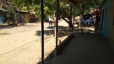 En este sector de Pinar del Río se registró el doble homicidio.