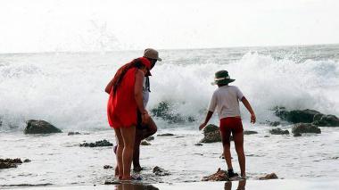 Dimar alerta por fuertes vientos y oleajes en el mar Caribe