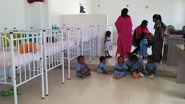Niños con desnutrición serán atendidos en Centro de Recuperación Nutricional de Manaure