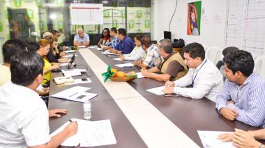 Reunión del Comité realizada la semana pasada.