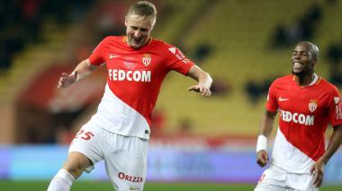 El Mónaco golea al Dijon y se ubica en la segunda posición