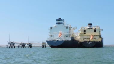 Grupo Térmico dispone de 150.000 metros cúbicos de GNL importado: Calamarí LNG