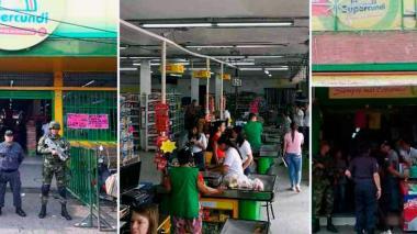 La cadena de supermercados operaban en Bogotá, Cundinamarca, Quindío y Caldas.