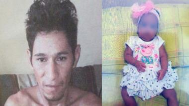 Alexander Ospino Castro, padrastro de la menor confesó haberla asesinado.