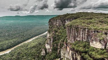 Presidente Santos anuncia ampliación del Parque Nacional Chiribiquete