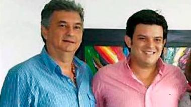 El exgobernador Alejandro Lyons y su padre Alejandro Lyons de la Espriella.