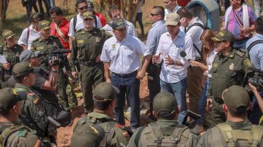 Más de 800 soldados vigilarán el sur de Bolívar