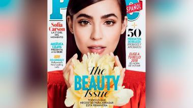 Sofía Carson, hija de barranquilleros, es portada en marzo de 'People en Español'
