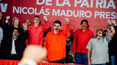 Maduro inscribió su candidatura a la reelección presidencial