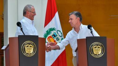 Venezuela concentró la atención del encuentro Santos- Kuczynski