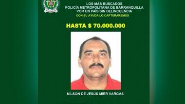 Capturan en Malambo a Nilson Mier, implicado en atentados en San José y Soledad