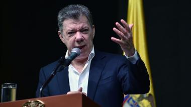 Presidente Santos condena actos violentos contra campañas políticas