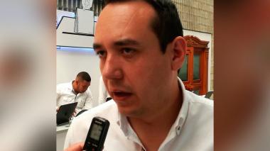 Eduardo Garzón, funcionario del Mininterior.