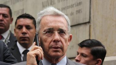 Álvaro Uribe Vélez, senador y expresidente de Colombia.
