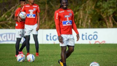 """""""Junior volvió a creer en su fútbol"""": Yimmi Chará"""