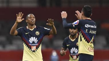 Andrés Ibargüen se luce en la 'Concachampions'