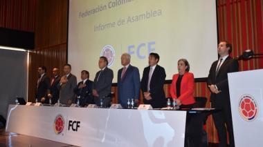 Se completó el nuevo Comité Ejecutivo de la Federación Colombiana de Fútbol
