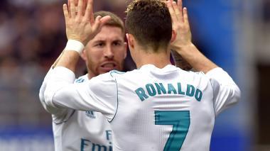 La razón por la que Ramos se ausentó cinco minutos del juego Eibar-Madrid