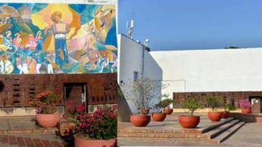 Repudio generó en Valledupar que la Alcaldía ordenara borrar un mural de alto valor cultural de la fachada del Concejo municipal para reparar una pared, que hoy en vez de la obra, de la autoría del artista fallecido Germán Piedrahita, se encuentra pintada de blanco.