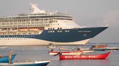 Un crucero llegó a Santa Marta con 2.551 extranjeros