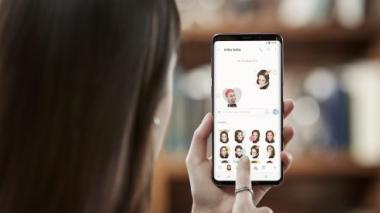 La realización de emojis propios es de las principales apuestas de realidad 3D del Galaxy S9.