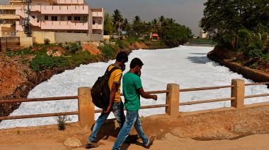 Bangalore, la capital de la alta tecnología en India que se muere de sed