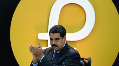 Maduro condenó el veto impuesto por EEUU a la criptomoneda