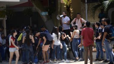 Estudiantes de la Uniautónoma anuncian para hoy nuevo plantón