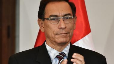 Martín Vizcarra, primer vicepresidente de Perú.