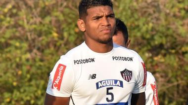 Rafael Pérez, defensa cartagenero del Junior.