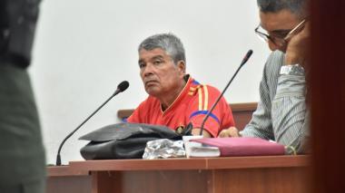 Ovet David Viloria Araque en la audiencia.
