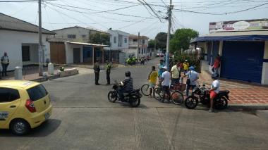 Por oponerse a robo de celular, universitario es baleado en barrio San Felipe