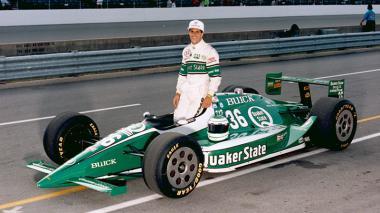 Roberto José Guerrero corrió las 500 millas de Indianápolis, una de las más importantes del automovilismo.
