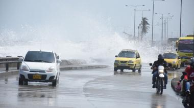 Dimar alerta sobre  fuerte oleaje en la Costa