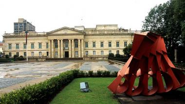 Fachada del Palacio de Nariño, lugar de residencia y de gobierno del próximo presidente de la República.-